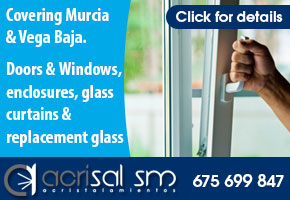 Acrisal SM, enclosures, glass screens, doors and windows