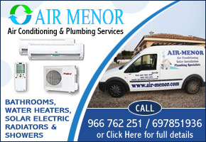 Air Menor air conditioning, solar heating, plumbing