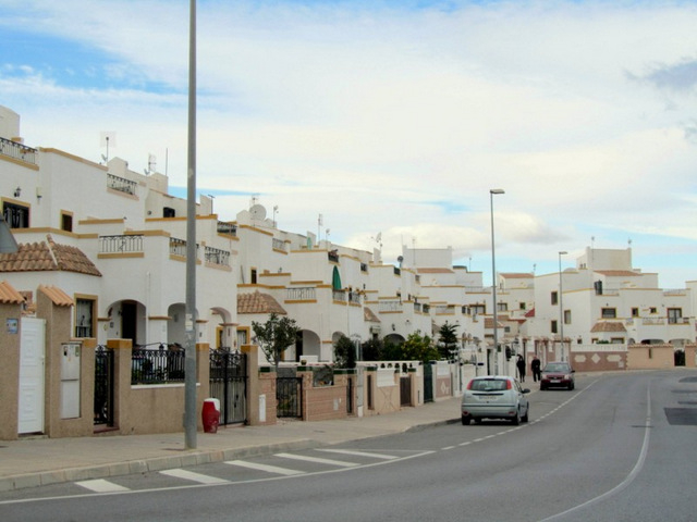 Residential areas Orihuela Costa North