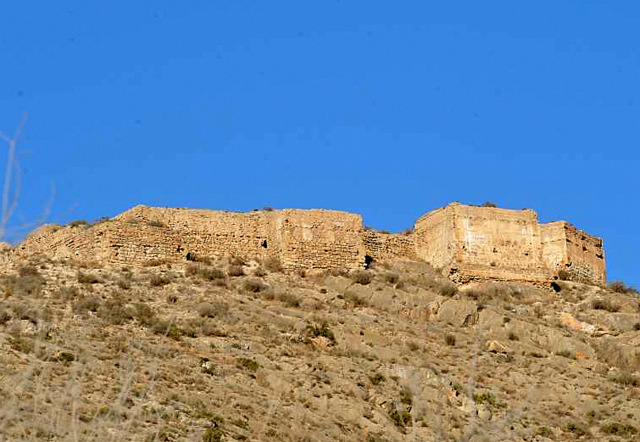 Orihuela castle, the Castillo de Orihuela