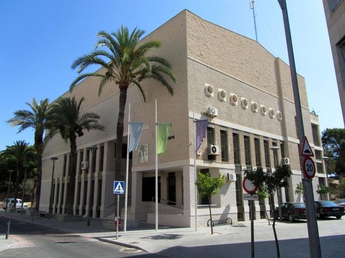 The Casa de Cultura in Guardamar del Segura