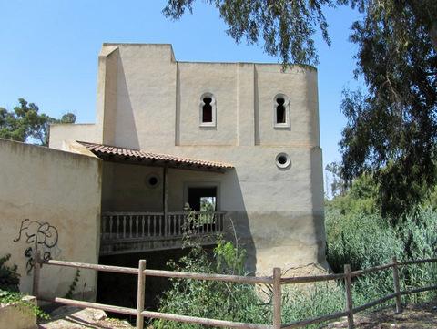 San Antonio Mill and iron bridge, Guardamar del Segura