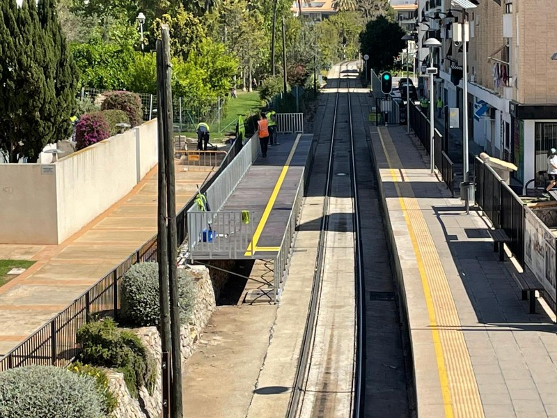 <span style='color:#780948'>ARCHIVED</span> - Remodeling of Garganes TRAM stop in Alicante, Line 9 Benidorm-Denia to begin on April 29