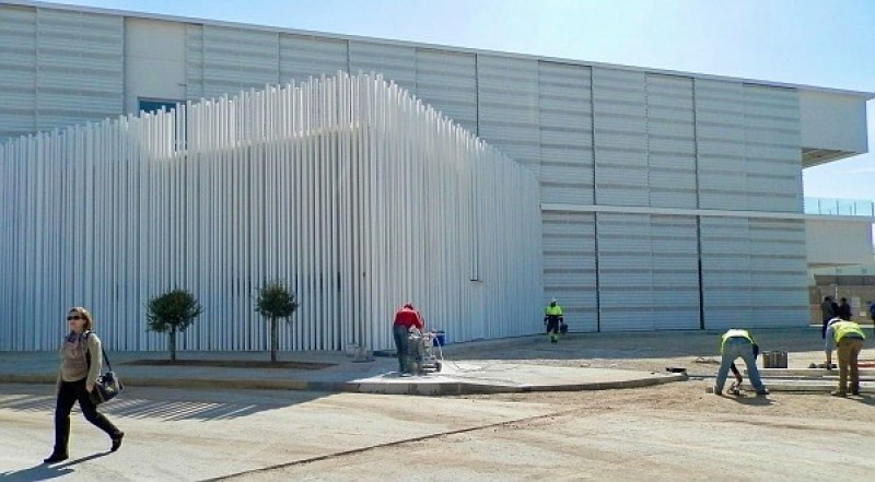 <span style='color:#780948'>ARCHIVED</span> -  Work to resume on Pabellon Blanco in Torrevieja sports complex