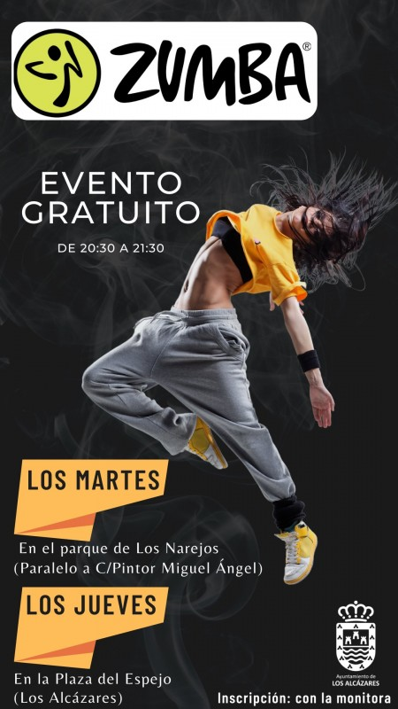 <span style='color:#780948'>ARCHIVED</span> - Free Zumba classes in Los Alcázares