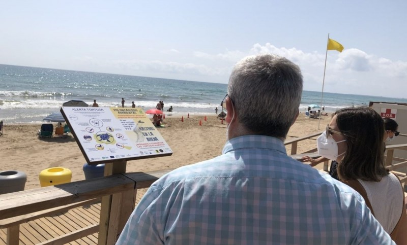 <span style='color:#780948'>ARCHIVED</span> - Elche launches campaign to protect sea turtle nests