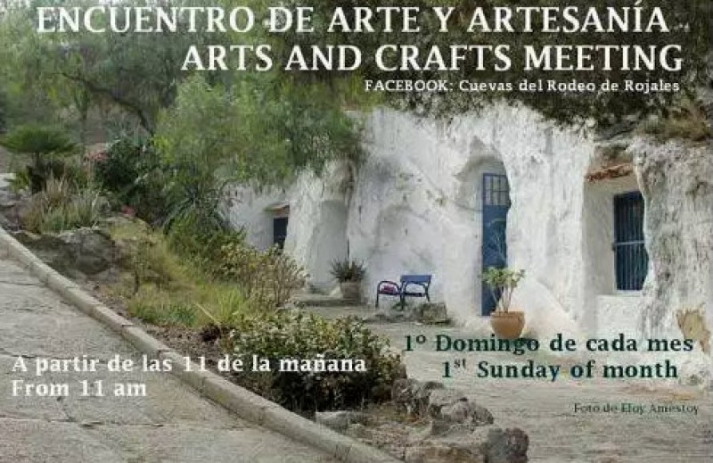 First Thursday of every month, arts and crafts days at the Cuevas del Rodeo in Rojales