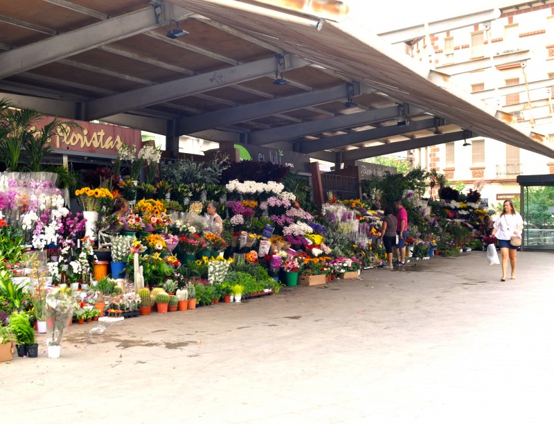 Mercado Central, the central marketplace in Alicante