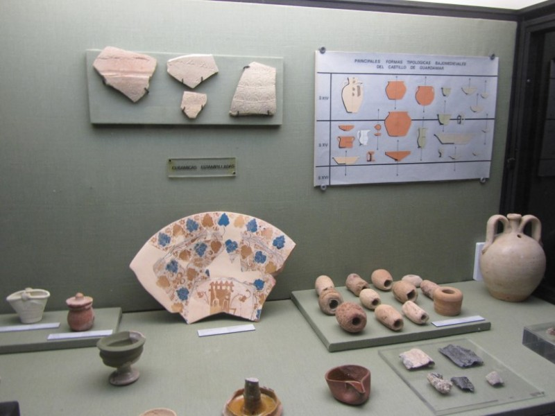 The MAG archaeological museum in Guardamar del Segura