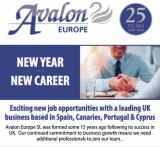 New Year New Career with Avalon Europe