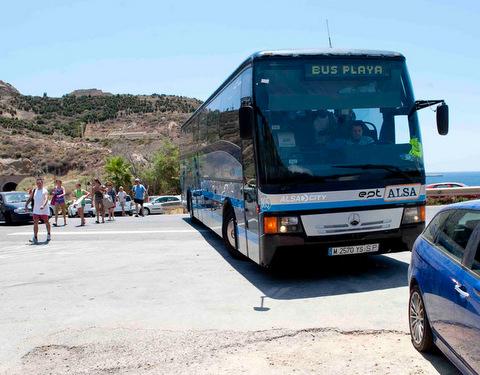 Bus timetable Portmán-La Unión